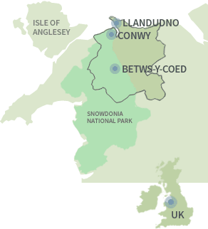 Visit Llandudno Conwy Official Tourist Information Site - Where is wales