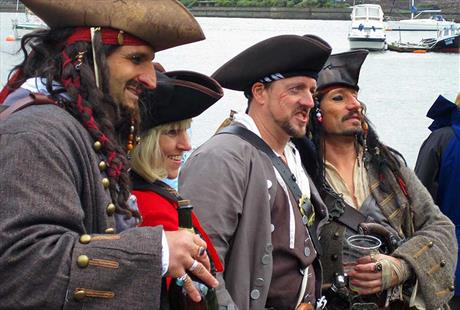 The Original Conwy Pirate Festival