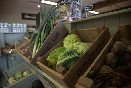 Bodnant Farm Shop, Colwyn Bay